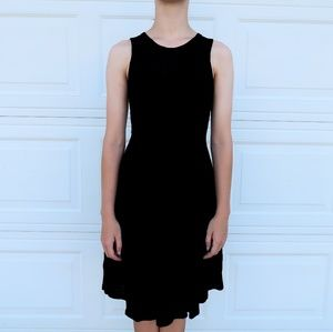 H&M Black Midi Dress